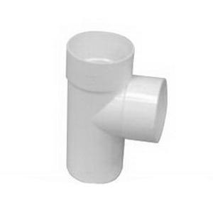 Iplex 95 deg Round Downpipe Junction 65 mm Solvent Cement Joint PVC-U White RJ65