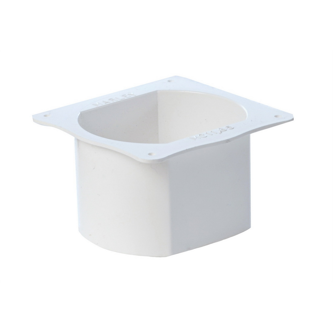 Marley Classic Dropper Outlet 80 mm x 80 mm Unplasticised PVC MC11.65