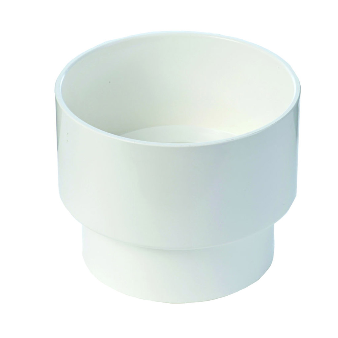 Marley Stormcold Round Adapter 80 mm Unplasticised PVC RAS80
