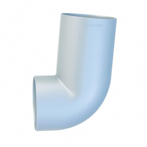Marley Round Downpipe Socket Bend 80 mm 95 deg F&F Titanium RB2.80.TTN