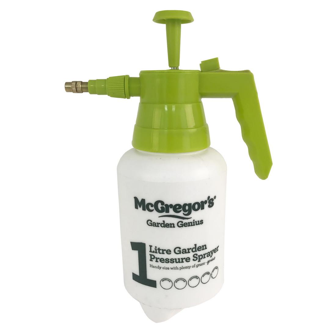 McGregor's Garden Pressure Sprayer 1 L Green/White SPRAYER1