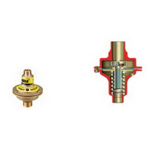 Methven NEFA Pressure Relief Valve 20 x 15mm Male BSP 37kPa DR Brass NRV37