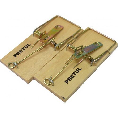 Mjolner Supreme Standard Mouse Trap Wood 2 pack MOUSETRAP