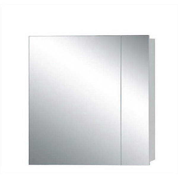 Newtech Avon Mirror Cabinet 800 x 750 mm Gloss White 2 Doors 5010