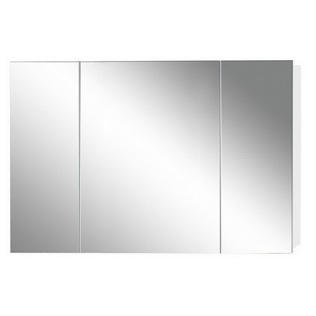 Newtech Avon Mirror Cabinet 800 x 1200 mm Gloss White 3 Doors 5030