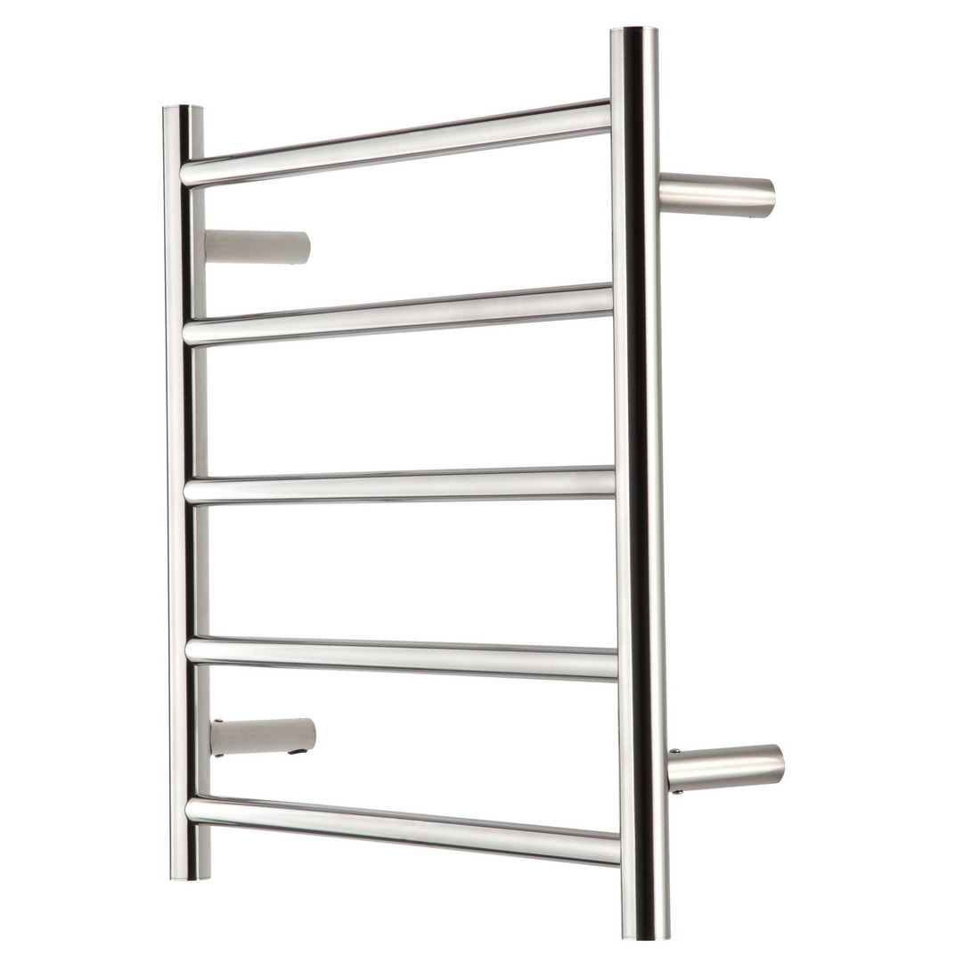 Raymor R Series Round Towel Warmer 600 x 122 x 560 mm 5 Rail Stainless Steel High Polish WHRC560