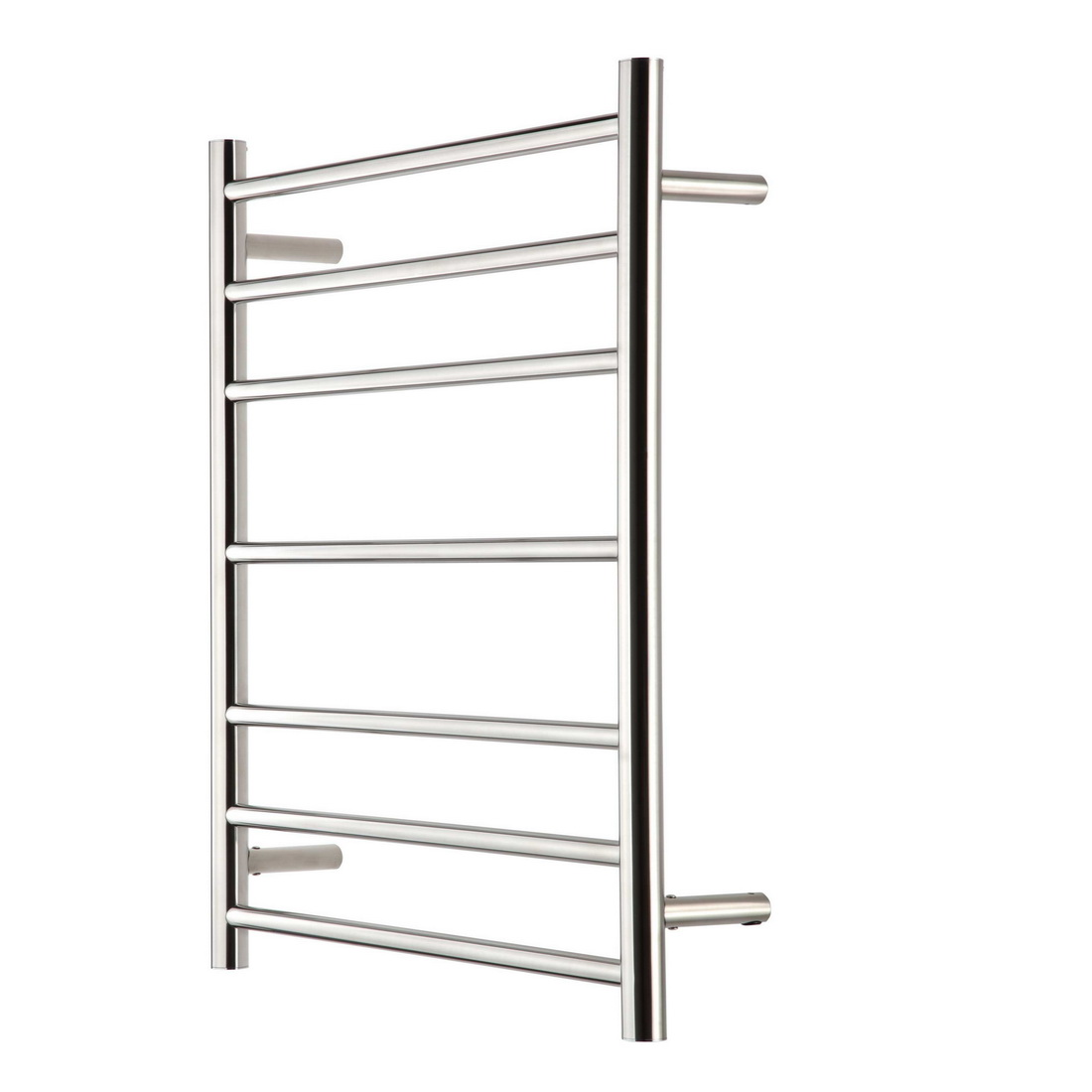 Raymor R Series Round Towel Warmer 600 x 122 x 805 mm 7 Rail Stainless Steel High Polish WHRC805