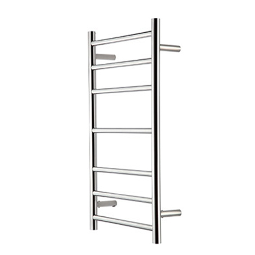 Raymor R Series Round Slim Towel Warmer 450 x 122 x 805 mm 7 Rail Stainless Steel High Polish WHRC805S
