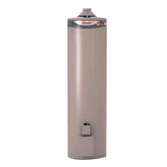 Rheem 441 Series Mains Pressure Gas Water Heater 170L 430 x 1855mm Vitreous Enamel 441170NO