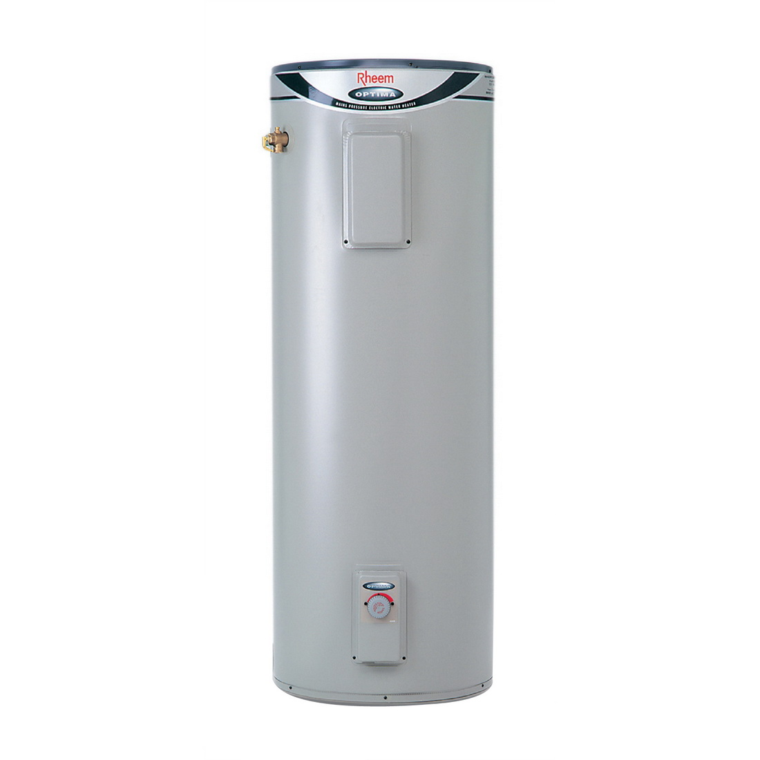 Rheem Optima Mains Pressure Electric Hot Water Cylinder 293L 580 x 1825mm 2 x 3kW 91330025