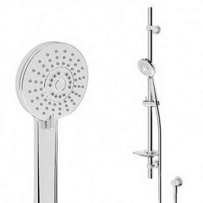 Robertson Elementi Slide Splash Shower Comes with Elbow 900 x 25 mm Chrome 40232.02