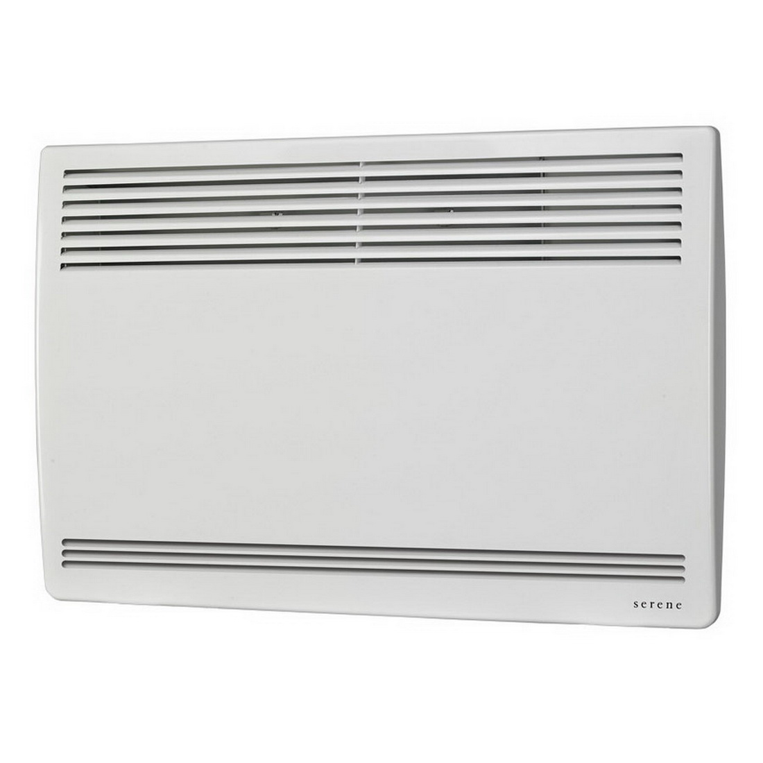 Serene Primo Manual Panel Heater 2kW French White S2025