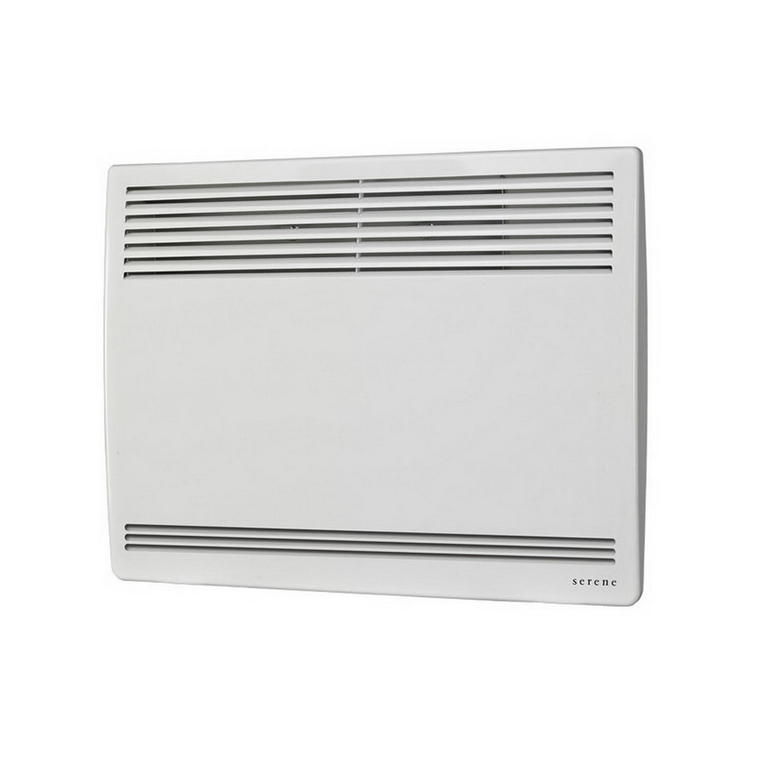Serene Intimo Electronic Zetto Panel Heater 1kW French White S2026