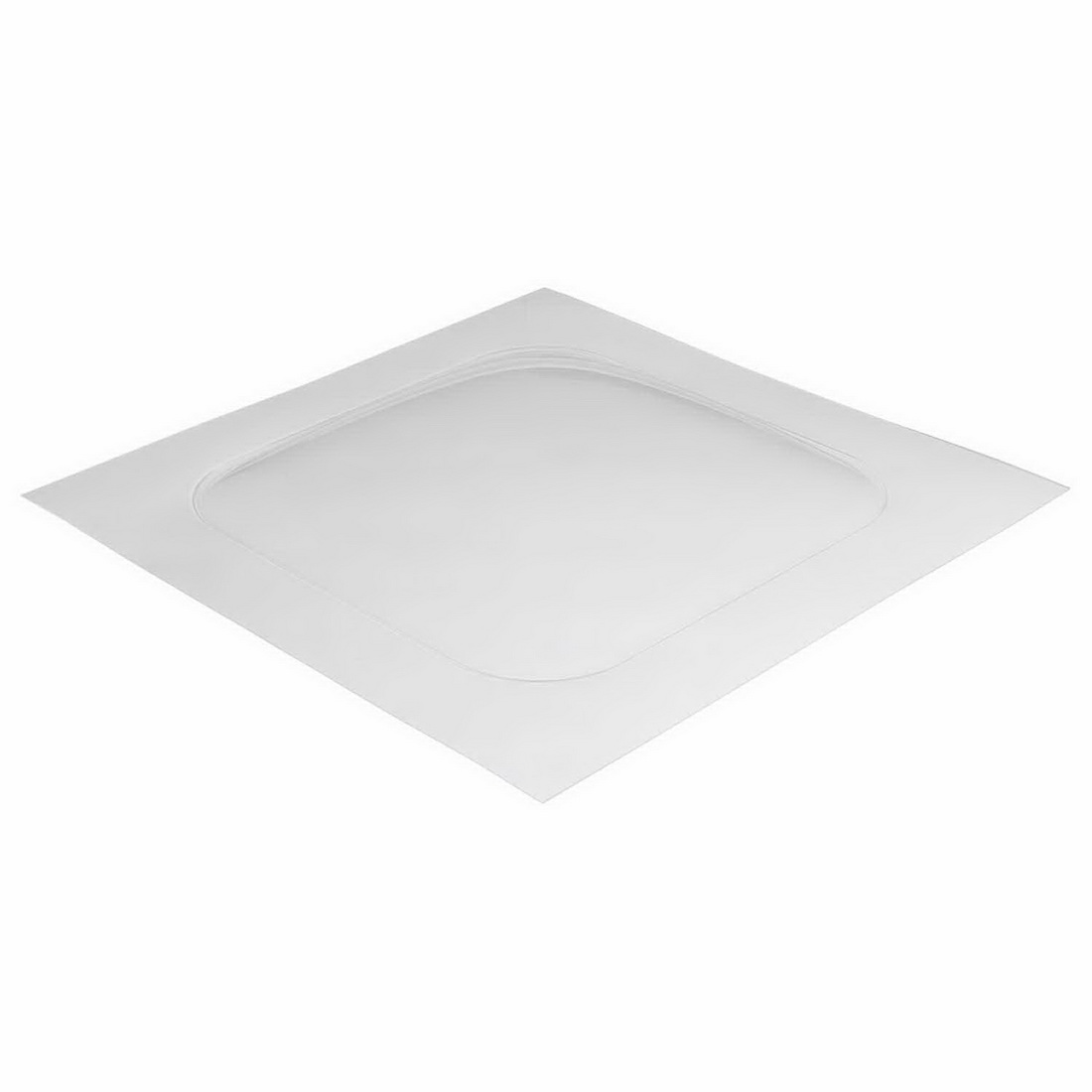 Showerdome Standard Square Bath 700 x 1000 x 1000 mm Clear S700