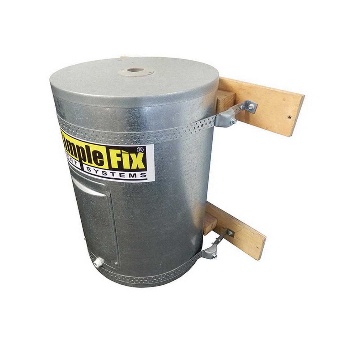 RSL SimpleFix 2 Strap Cylinder Restraint Kit SIMKIT